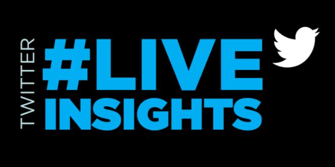 Twitter reporta dados através da plataforma Live Insights