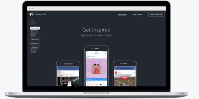 Facebook lança Creative Hub para todo o mercado