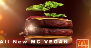 Inusitado: McDonald´s lança McVegan, hambúrguer vegano